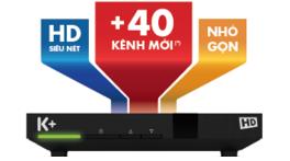 Danh sách gói 131 kênh k+ HD