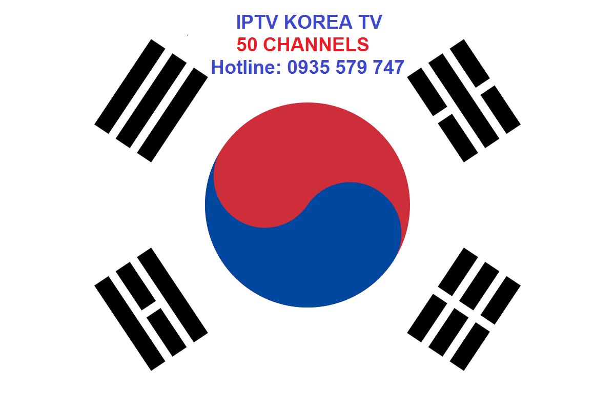 lắp đặt truyền hình Hàn Quốc